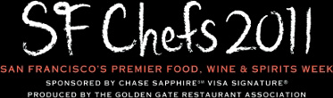 Come see us SF Chefs 2011