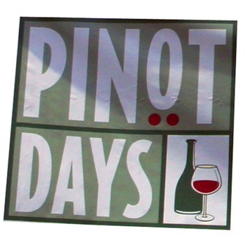 Summertime! Pinot Days discount & Summer Celebration