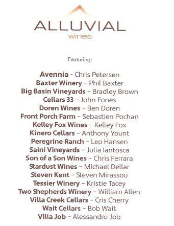 Alluvial Tasting 4/23