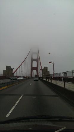 Morning GG Bridge
